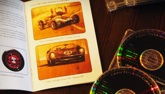 how to draw cars now 2-disc special edition