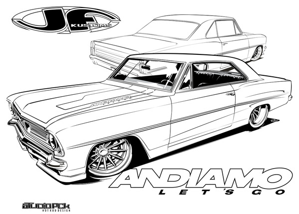 acadian coloring page