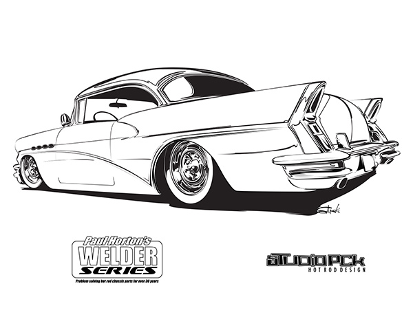 buick-coloring page