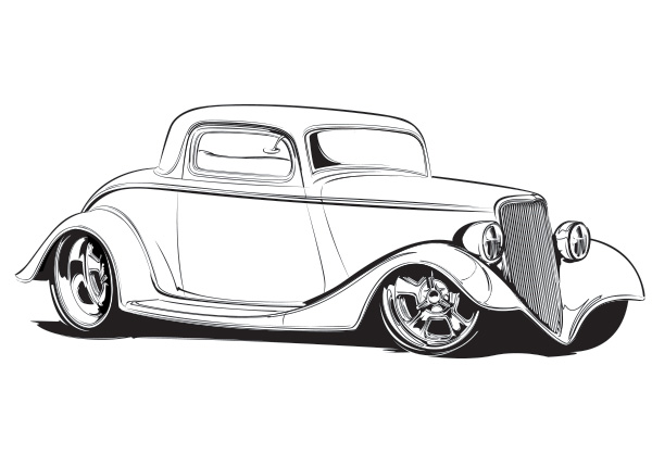 coupe coloring page