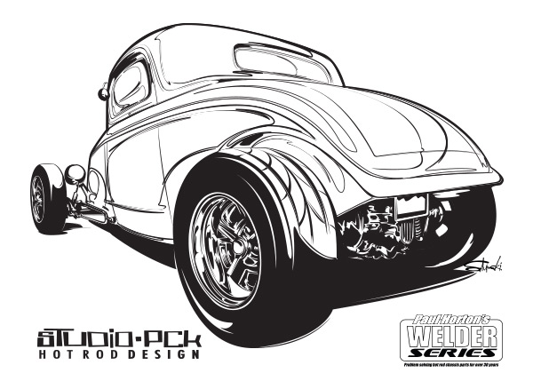low coupe-coloring page