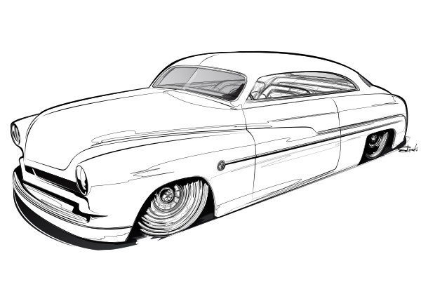 kustom-coloring page